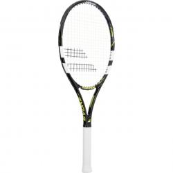 Tenisová raketa pre začiatočníkov BABOLAT-Evoke Sport Strung Grip 2 black/yellow