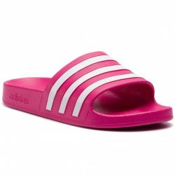 Dámska obuv k bazénu (plážová obuv) ADIDAS CORE-Adilette Aqua real magenta/ftwr white/real magenta