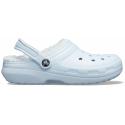 Kroksy zateplené (rekreačná obuv) CROCS-Classic Lined Clog mineral blue/mineral blue -