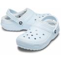 Rekreačná obuv CROCS-Classic Lined Clog mineral blue/mineral blue -