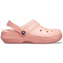 Kroksy zateplené (rekreačná obuv) CROCS-Classic Lined Clog melon/melon -