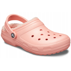 Rekreační obuv CROCS-Classic Lined Clog melon / melon