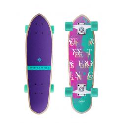Skateboard STREET SURFING-Cruiser KICKTAIL 26 Coral, 100 kg, 8+