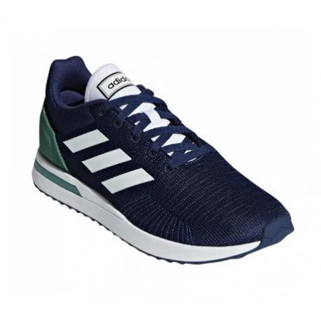Pánska rekreačná obuv ADIDAS-Run 70s dark blue/cloud white/active green