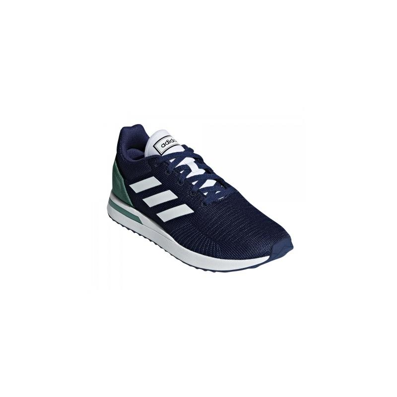 ADIDAS-Run 70s dark blue/cloud white/active green 44 Modrá