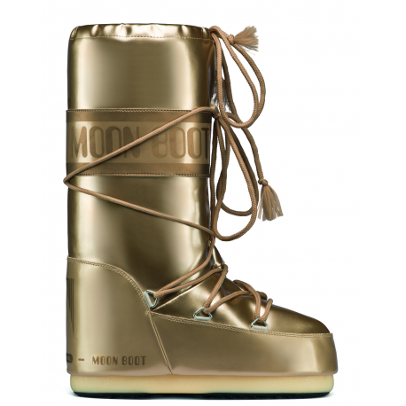 Dámska zimná obuv vysoká MOON BOOT-MBVINILMET gold