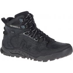 Pánska turistická obuv stredná MERRELL-ANNEX TRAK V MID WP black