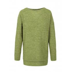 Dámsky sveter VOLCANO-S-OLGA-300-GREEN MEL