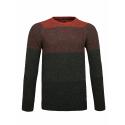 Pánský svetr VOLCANO-S-HOPPER-510-RUSTY -