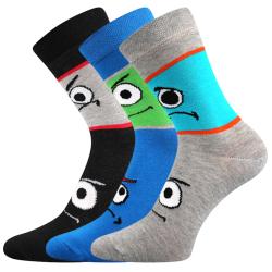 Detské ponožky BOMA-Tlamik-mix 3 pack
