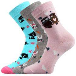 Detské ponožky VOXX-C - holka VIII 3 pack