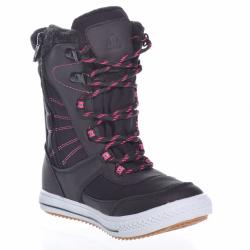 Detská zimná obuv vysoká JUNIOR LEAGUE-119-169-90-black