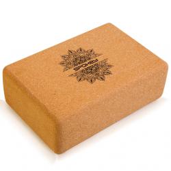 SPOKEY-NIDRA jóga blok korkový