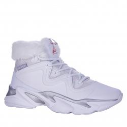 Dámská zimní obuv vysoká ANTA-Talada white / silver
