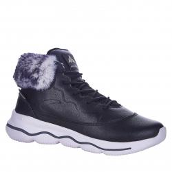 Dámska zimná obuv vysoká ANTA-Bakari black/white