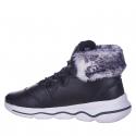 Dámska zimná obuv vysoká ANTA-Bakari black/white -