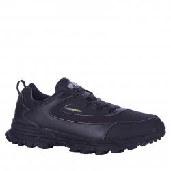 Pánska rekreačná obuv ANTA-Fazo black/dk.grey/yellow