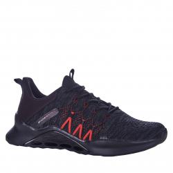 Pánska tréningová obuv ANTA-Edina black/red
