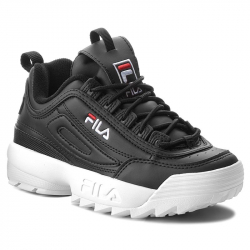 Dámská rekreační obuv FILA-disruptory Low black