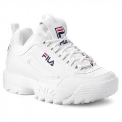 Dámská rekreační obuv FILA-disruptory Low white / white