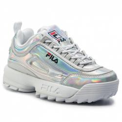 Dámská rekreační obuv FILA-disruptory Low silver