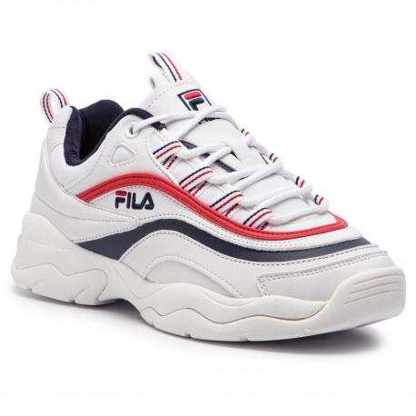 Dámska rekreačná obuv FILA-Ray Low white/blue/red