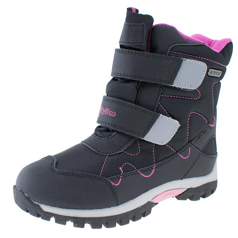 Detská zimná obuv stredná WOJTYLKO-Kenn black -