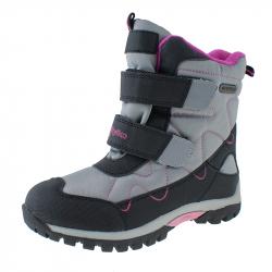 Detská zimná obuv stredná WOJTYLKO-Kenn grey