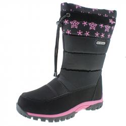 Detská zimná obuv vysoká WOJTYLKO-Trull black