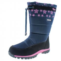 Detská zimná obuv vysoká WOJTYLKO-Trull blue
