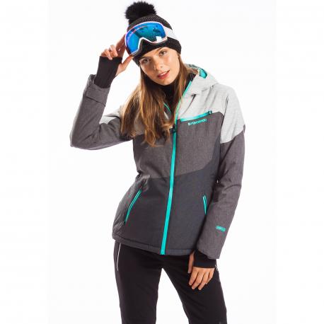 Dámska lyžiarska bunda FUNDANGO-LINDEN-781-antracit heather