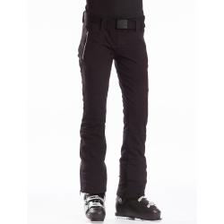 Dámske lyžiarske softshellové nohavice FUNDANGO-GALENA-890-black