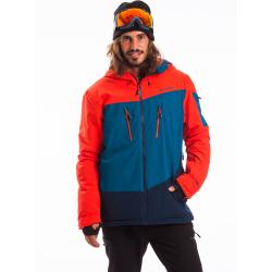 Pánska lyžiarska bunda FUNDANGO-PRIVET-281-redorange