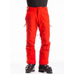 Pánské lyžařské kalhoty FUNDANGO-OAK-281-redorange