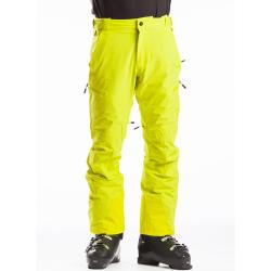 Pánské lyžařské kalhoty FUNDANGO-OAK-520-lime