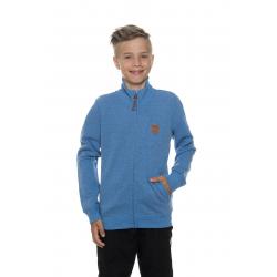 Chlapčenská mikina so zipsom SAM73-Boys sweatshirt-BM 514 200-light denim