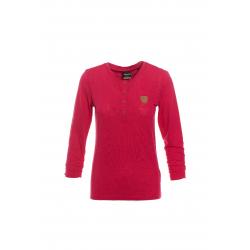 Dámske tričko s dlhým rukávom SAM73-Womens T-shirt s 3/4 sleeves-WT 787 120-dark pink