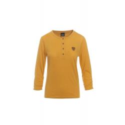 Dámske tričko s dlhým rukávom SAM73-Womens T-shirt s 3/4 sleeves-WT 787 310-ocher