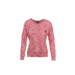 Dámske tričko s dlhým rukávom SAM73-Womens T-shirt long sleeves-WT 790 120-dark pink