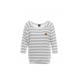 Dámske tričko s dlhým rukávom SAM73-Womens T-shirt s 3/4 sleeves-WT 786-light gray