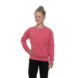 Dívčí mikina SAM73-Girls Sweatshirt-GM 515 120-dark pink