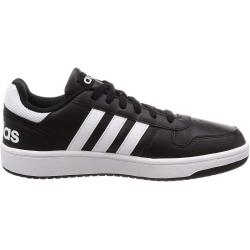 Pánska rekreačná obuv ADIDAS-HOOPS 2.0 Black