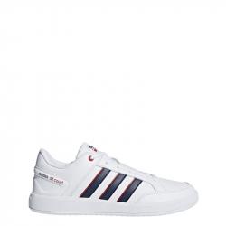 Pánska vychádzková obuv ADIDAS-CLOUDFOAM ALL COURT LEATHER White