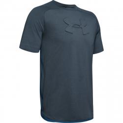Pánské tréninkové triko s krátkým rukávem UNDER ARMOUR-Unstoppable MOVE TEE-GRY