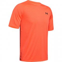 Pánske tréningové tričko s krátkym rukávom UNDER ARMOUR-UA Tech 2.0 SS Tee Novelty-RED
