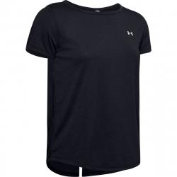 Dámske tréningové tričko s krátkym rukávom UNDER ARMOUR-UA Whisperlight SS -BLK