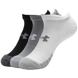 Ponožky POD ARMOR-UA Heatgear NS -GRY-3 pack