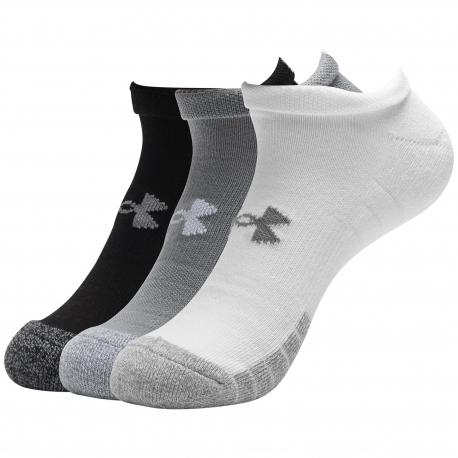 Ponožky UNDER ARMOUR-UA Heatgear NS -GRY-3 pack