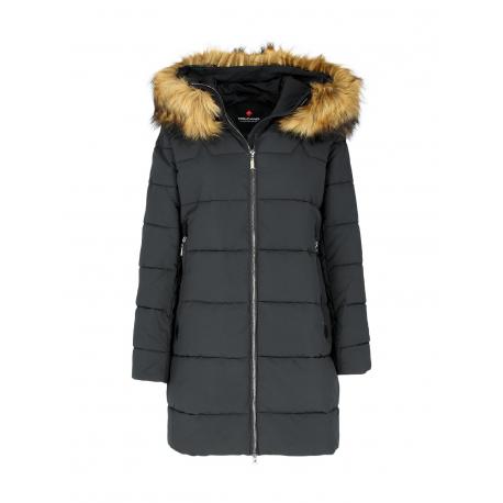 Dámska bunda VOLCANO-J-JESS-700-BLACK