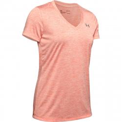 Dámske tréningové tričko s krátkym rukávom UNDER ARMOUR-Tech SSV - Twist-ORG-836